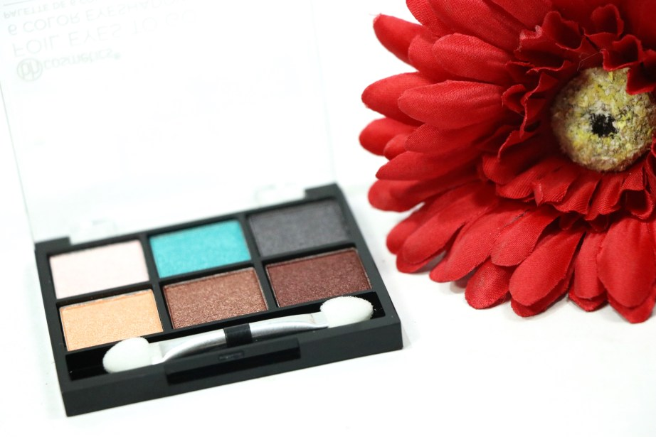 BH Cosmetics Foil Eyes To Go Eyeshadow Palette Review, Swatches MBF Blog