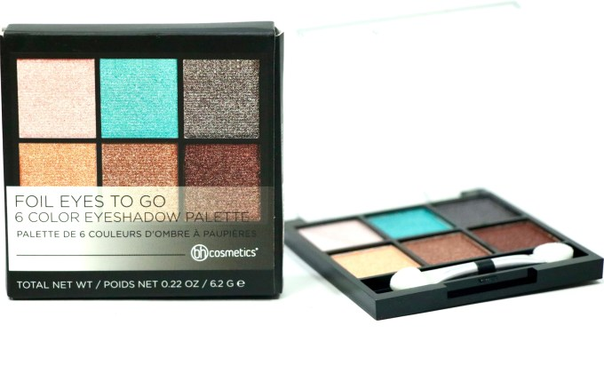 BH Cosmetics Foil Eyes To Go Eyeshadow Palette Review, Swatches