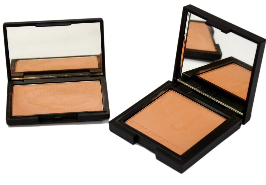 Dupe of Zoeva Blush burning Up is Sleek Blush in Suede