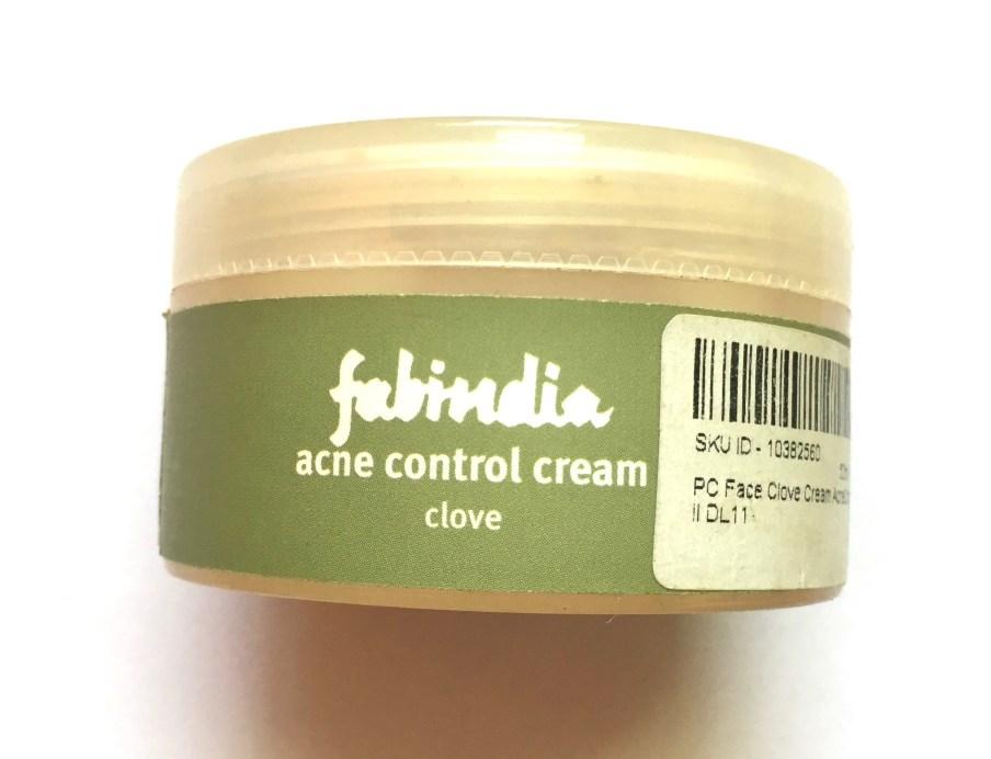 Fabindia Clove Acne Control Cream Review MBF Blog