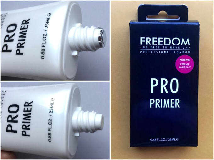 Freedom Pro Makeup Primer Review, Swatches Open