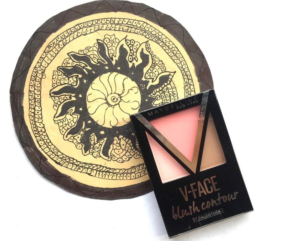 Maybelline V Face Blush Contour Pink Review Swatches Studio Shape Powder 01 Light Med Makeup Beauty Blog