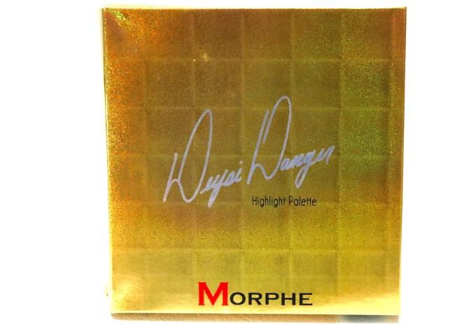 Morphe Deysi Danger Highlight Palette Review, Swatches Hologram Front