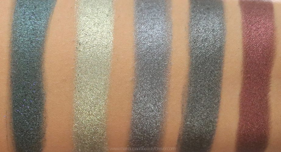 Morphe Pressed Pigments Swatches Make A Statement, Room Service, Ferrari, Anti Social, Designer Everything