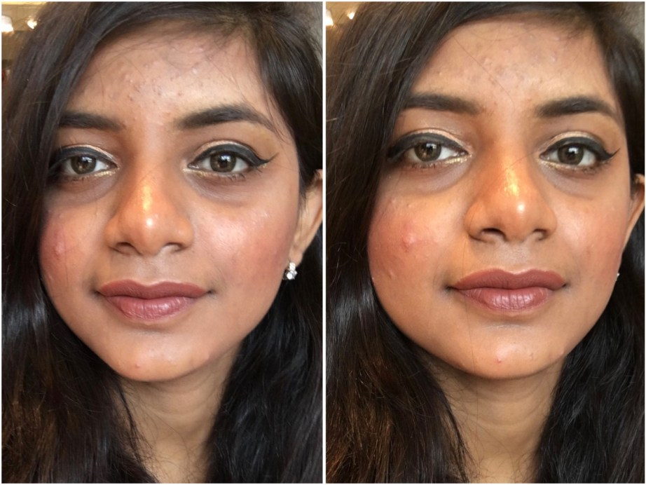 Nykaa So Matte Nude Lipstick Bon Bon 26M Review, Swatches MBF Makeup Look