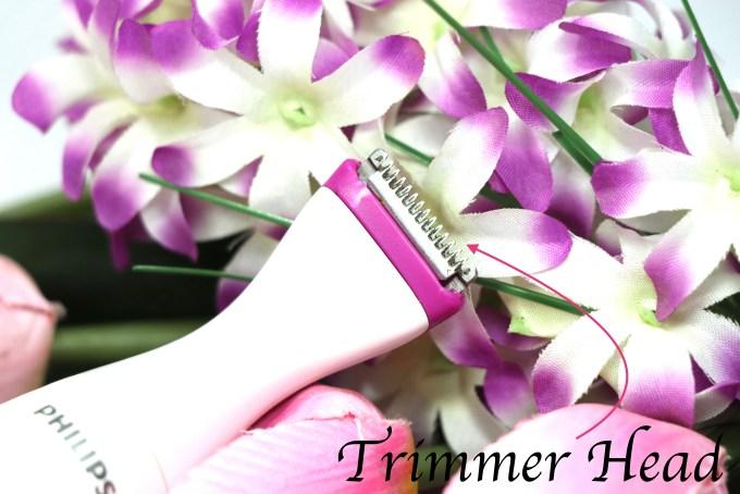 Philips Bikini Genie Bikini Trimmer BRT382:15 Review head