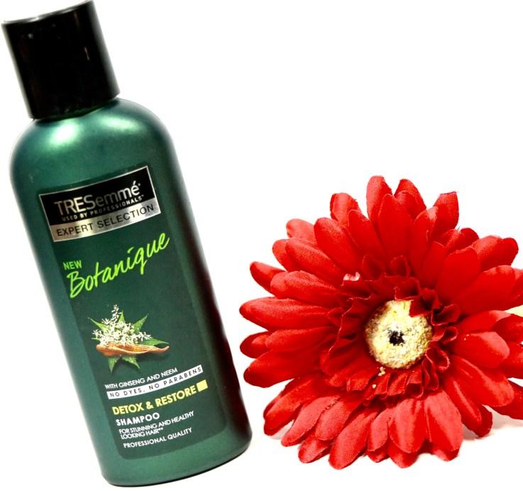 TRESemmé Botanique Detox & Restore Shampoo Review MBF Blog