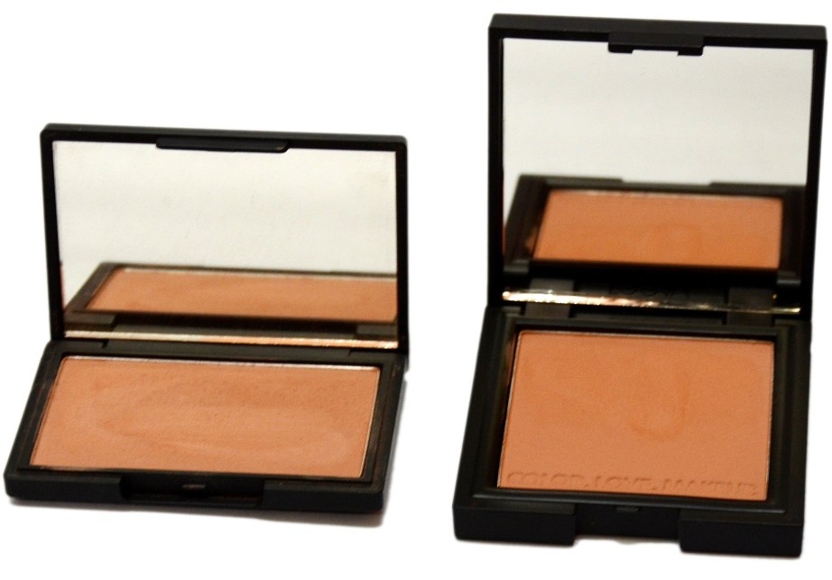 Zoeva Luxe Color Blush Burning Up VS Sleek Blush Suede