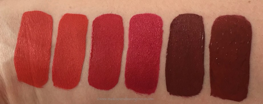 All Jeffree Star Velour Liquid Lipsticks Shades Review, Swatches Anna Nicole, Checkmate, Redrum, Rich Blood, Designer Blood, Unicorn Blood MBF