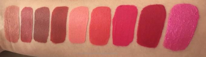 All Jeffree Star Velour Liquid Lipsticks Shades Review, Swatches Chrysanthemum, Rose Matter, Gemini, I'm Shook, 714, Watermelon Soda, Prom Night, Masochist, Dreamhouse MBF