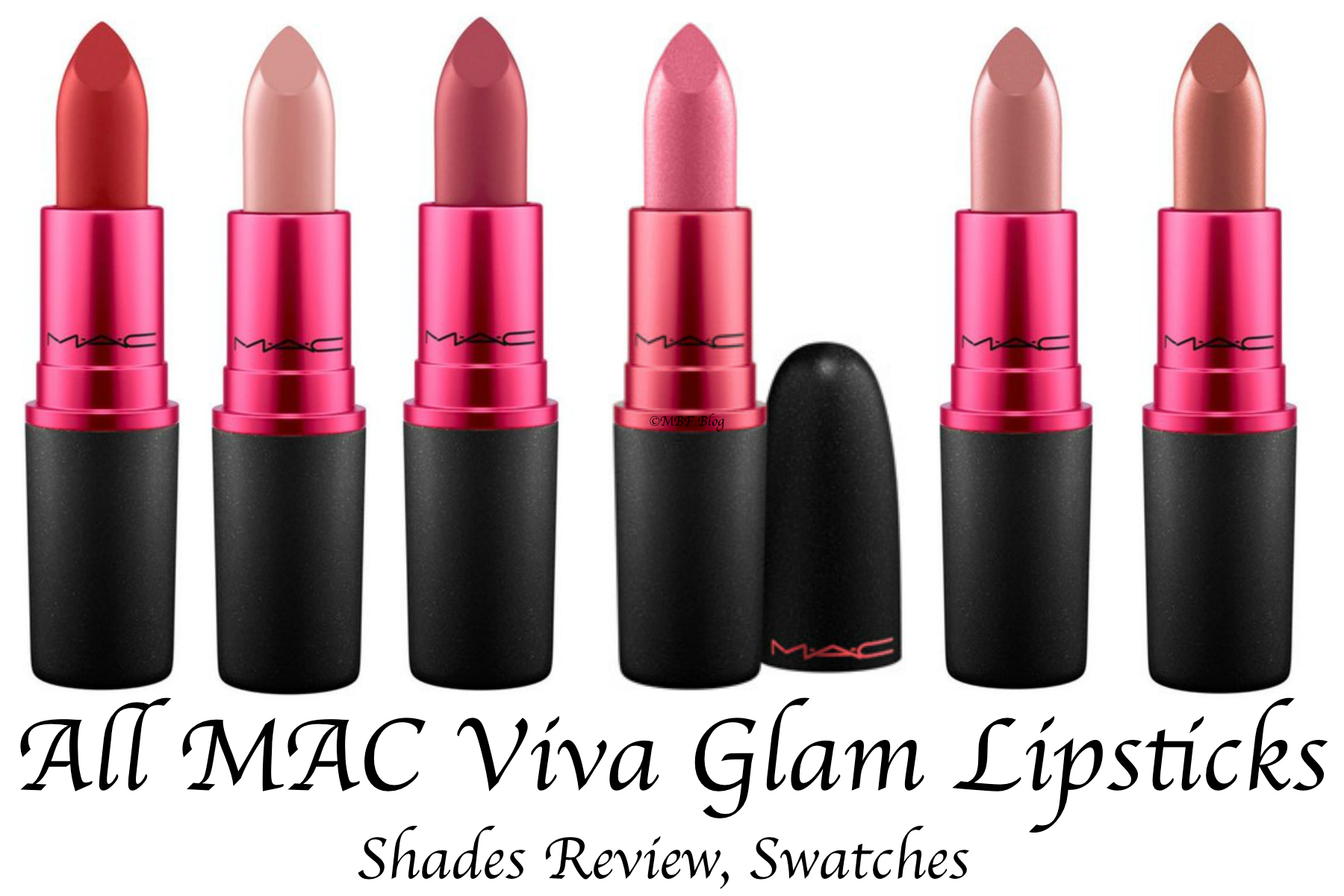 All Mac Viva Glam Lipsticks Shades Review Swatches