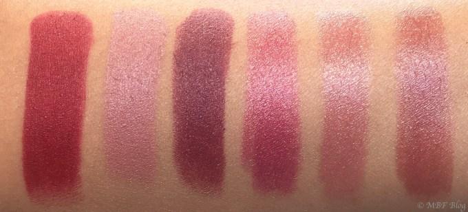 All MAC Viva Glam Lipsticks Shades Review, Swatches Viva Glam I, Viva Glam II, Viva Glam III, Viva Glam IV, Viva Glam V, Viva Glam VI Mbf blog