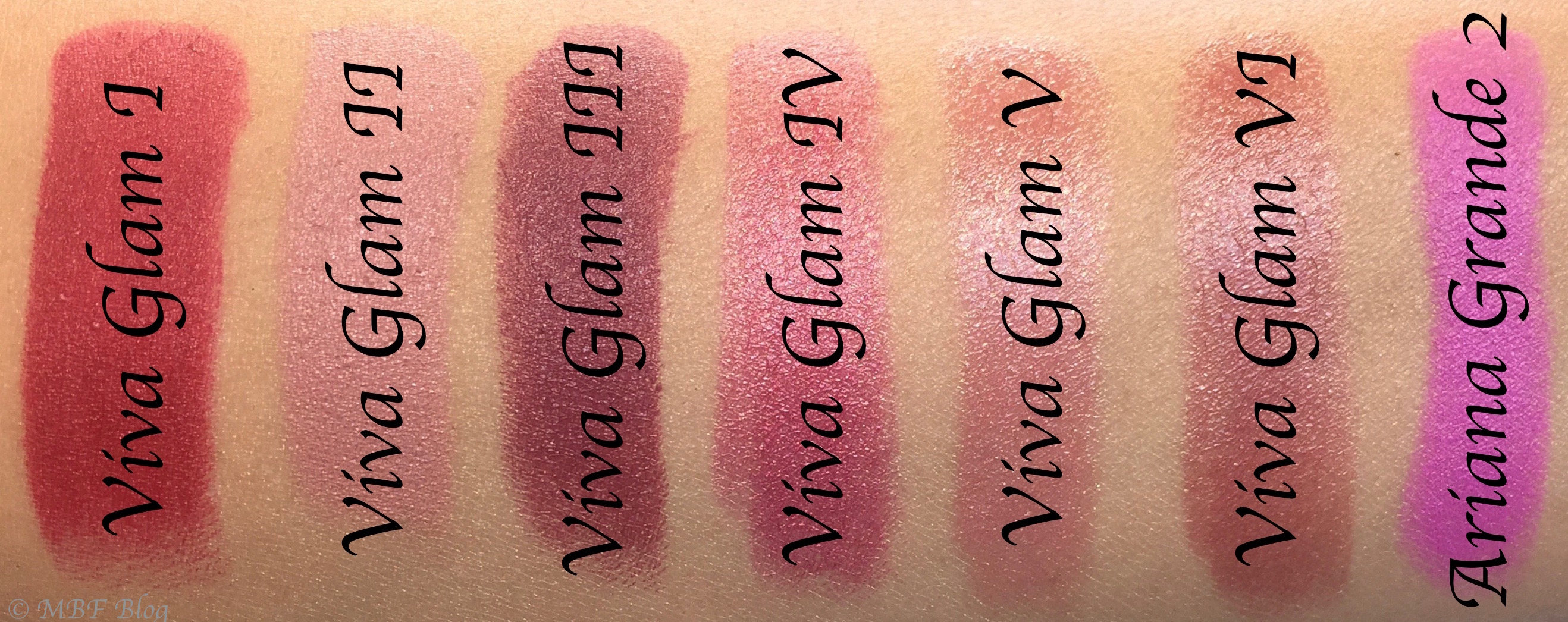 All MAC Viva Glam Lipsticks Shades Review, Swatches Viva ...