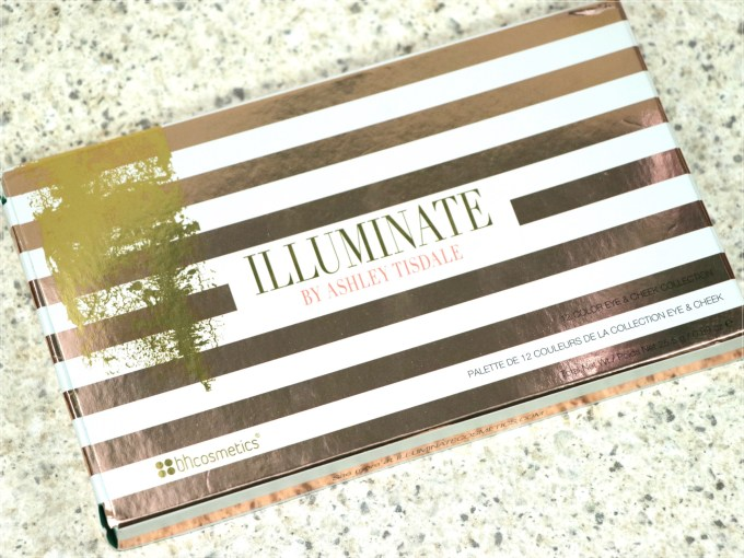 BH Cosmetics Illuminate Ashley Tisdale Night Goddess Palette Review, Swatches front