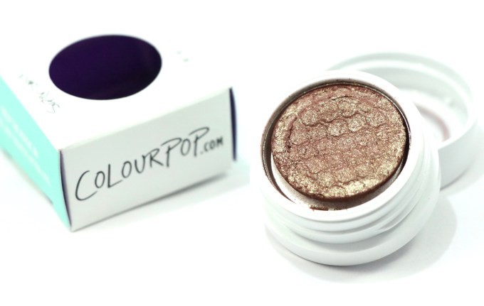 ColourPop DGAF Super Shock Shadow Review, Swatches MBF