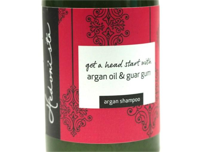 Hedonista Argan Shampoo Review closeup