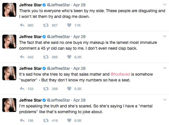 Jeffree Star confronts Too Faced Founder Jerrod Blandino for Tarte & NikkieTutorials 10