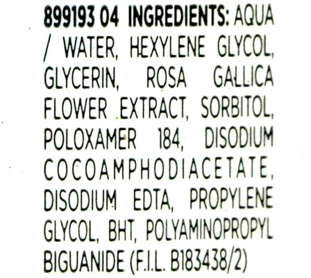 L'Oreal Paris Micellar Water 3 in 1 Review, Demo Ingredients