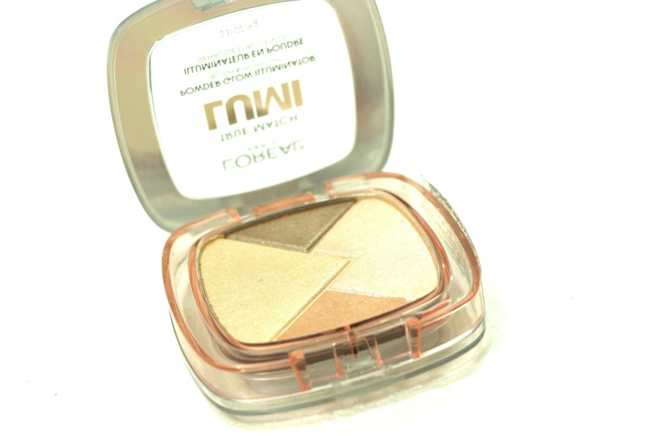 L'Oreal True Match Lumi Powder Glow Illuminator Blush & Highlight Review, Swatches MBF Blog