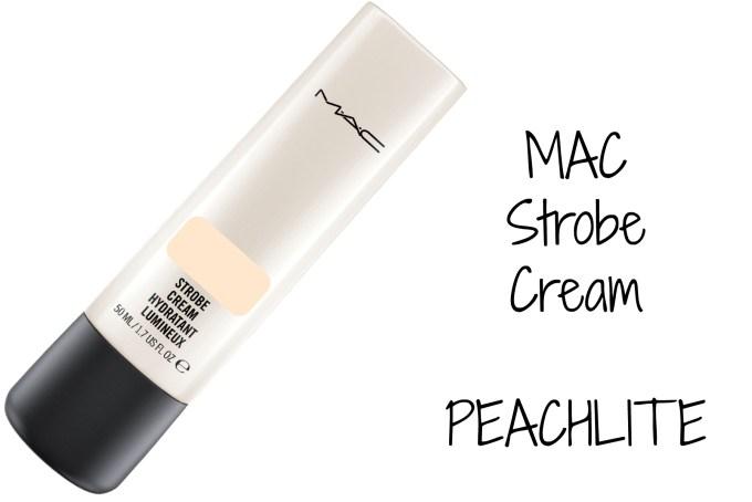 MAC Strobe Cream Peachlite Review, Swatches