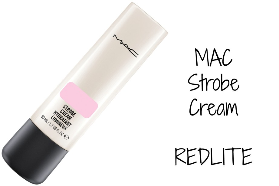MAC Strobe Cream Redlite Review, Swatches