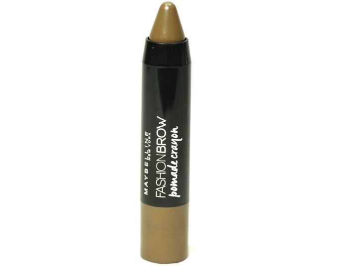 Maybelline Fashion Brow Pomade Crayon Review, Swatches Blog MBF