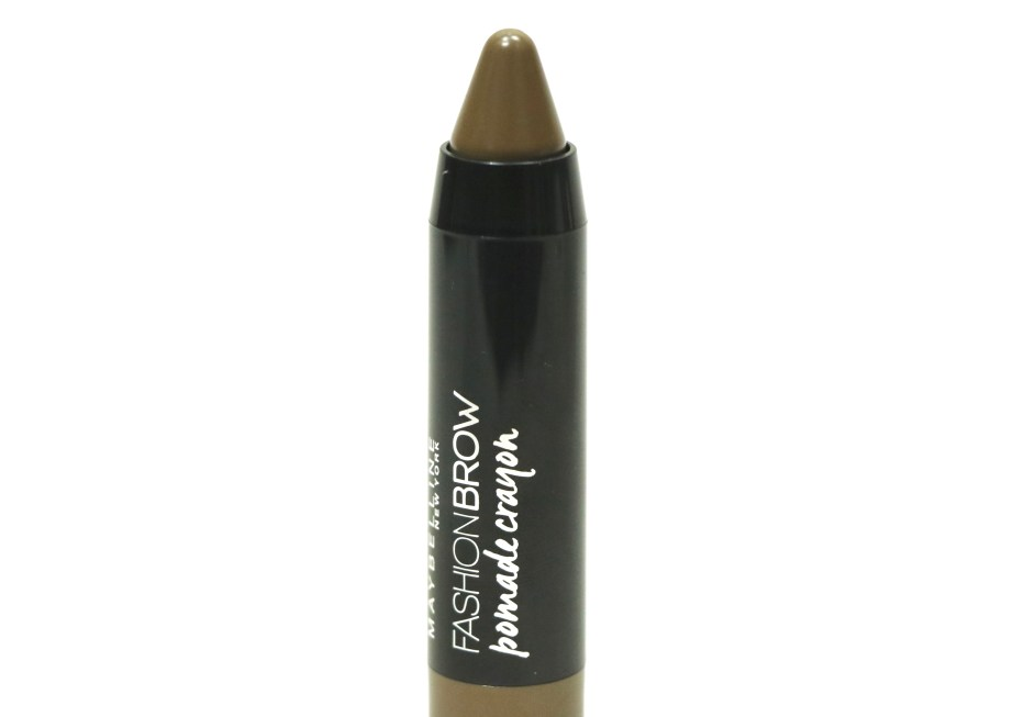 Maybelline Fashion Brow Pomade Crayon Review, Swatches Closeup