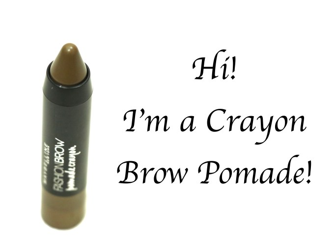 Maybelline Fashion Brow Pomade Crayon Review, Swatches MBF Blog