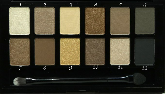 Maybelline The Nudes Eyeshadow Palette Review, Swatches Focus