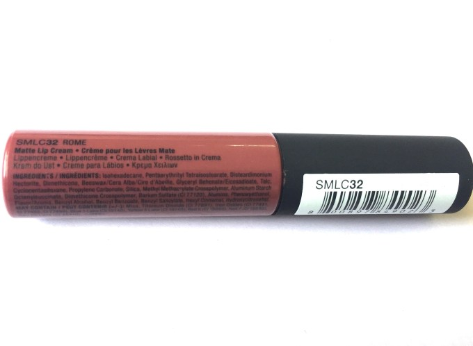 NYX Rome Soft Matte Lip Cream Review, Swatches Ingredients
