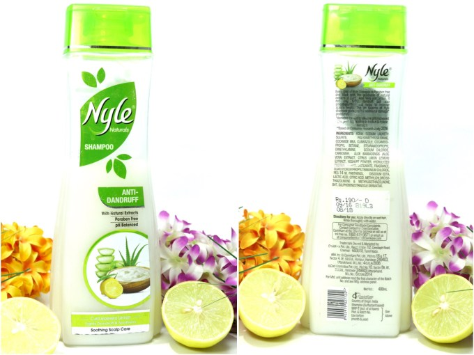 Nyle Naturals Anti Dandruff Shampoo Review MBF Blog