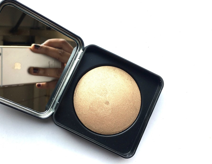 PAC Cosmetics Baked Highlighter 08 Review, Swatches MBF