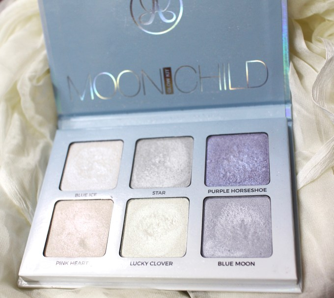Anastasia Moonchild Glow Kit Review, Swatches MBF
