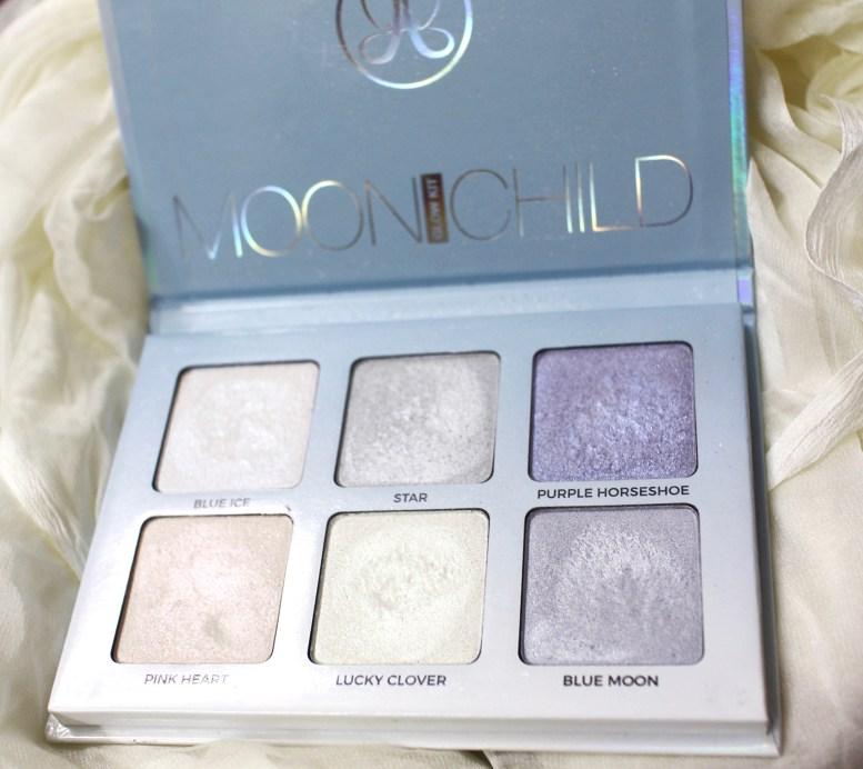 Anastasia Moonchild Glow Kit Review, Swatches MBF