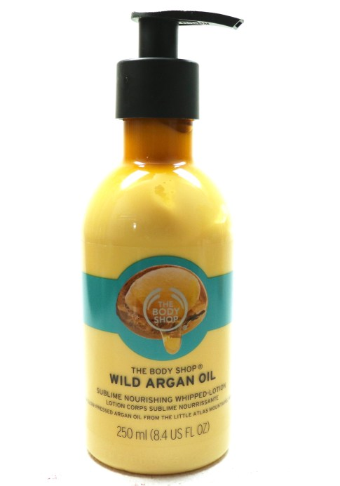 The Body Shop Wild Argan Oil Sublime Nourishing Whipped Body Lotion Review mbf