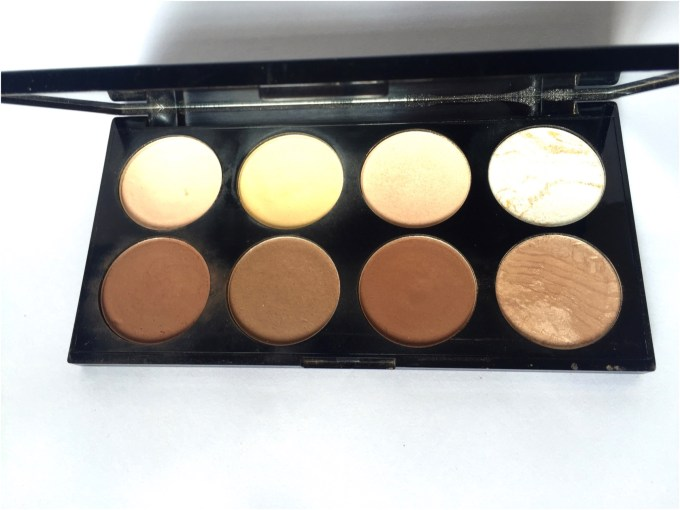 Makeup Revolution Ultra Contour Palette Review, Swatches mbf