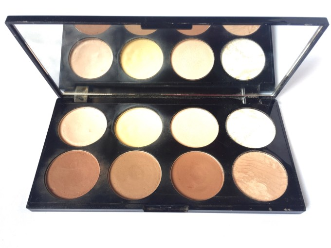 Makeup Revolution Ultra Contour Palette Review, Swatches