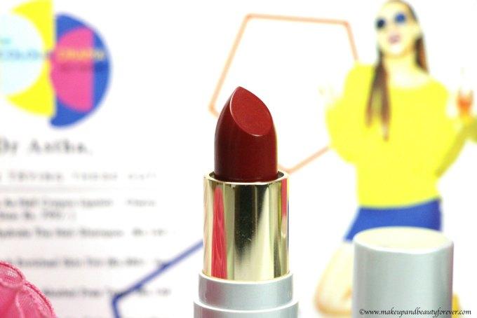 Johara Creme Rich Lip Color Saucey Red MBF Blog