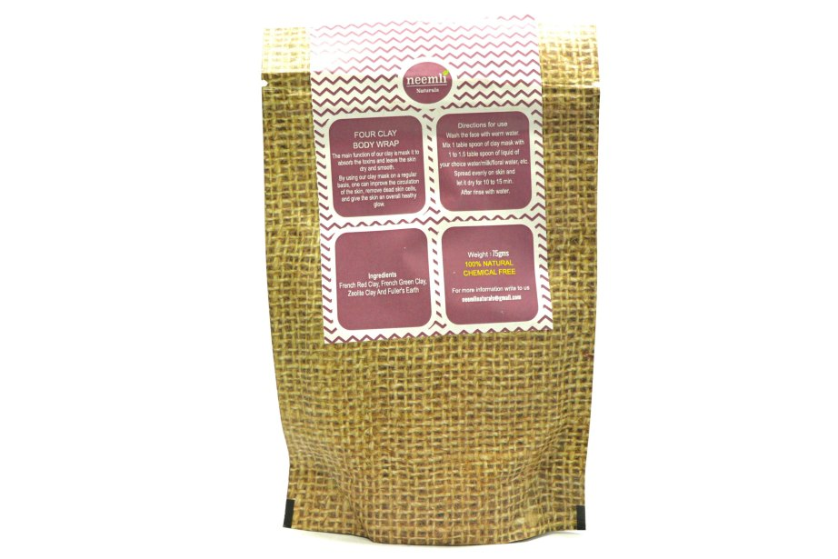 Neemli Four Clay Face Mask & Body Wrap Review Info