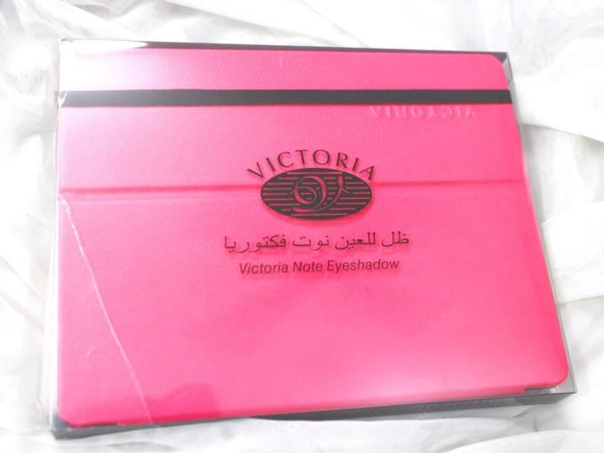 Victoria Note Eyeshadow Palette MBF