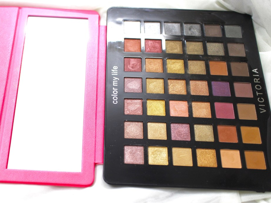 Victoria Note Eyeshadow Palette Review, Swatches, EOTD MBF