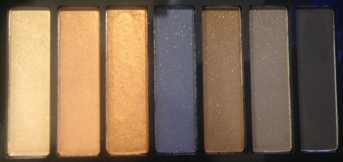 Colorbar Smokey Eyeshadow Palette Review, Swatches 1