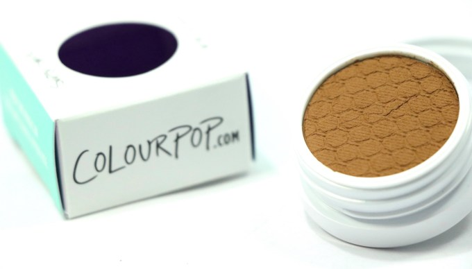 ColourPop Flutes Super Shock Shadow Review, Swatch