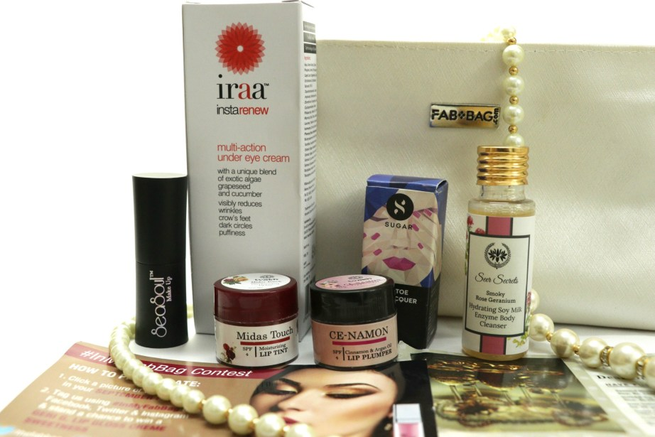Fab Bag September 2017 The Object of Desire Review All Products