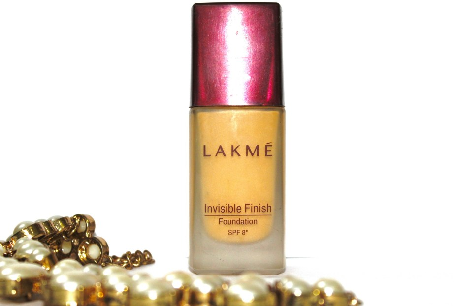 Lakme Invisible Finish Foundation Review, Swatches