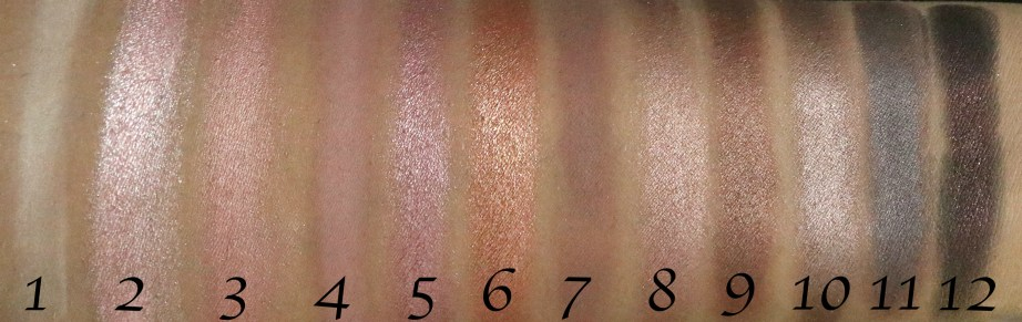 Makeup Revolution Iconic 3 Redemption Eyeshadow Palette Review, Swatches skin
