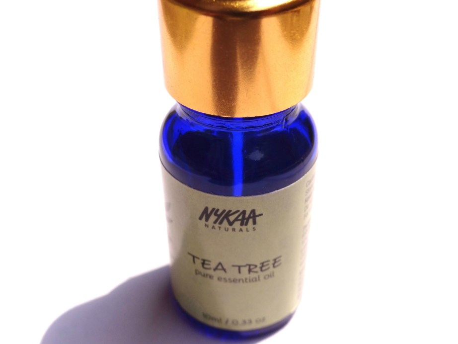 Nykaa Naturals Pure Essential Oil Tea Tree Review 3