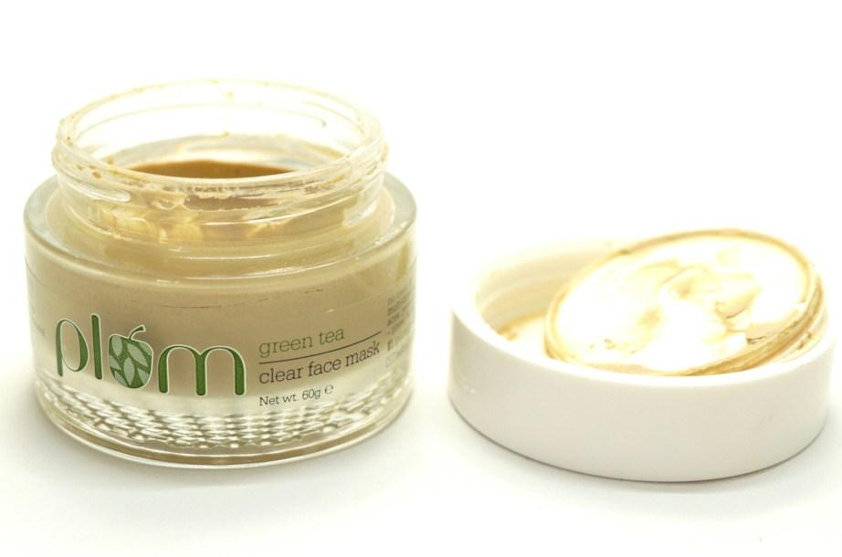 Plum Green Tea Clear Face Mask Review HD