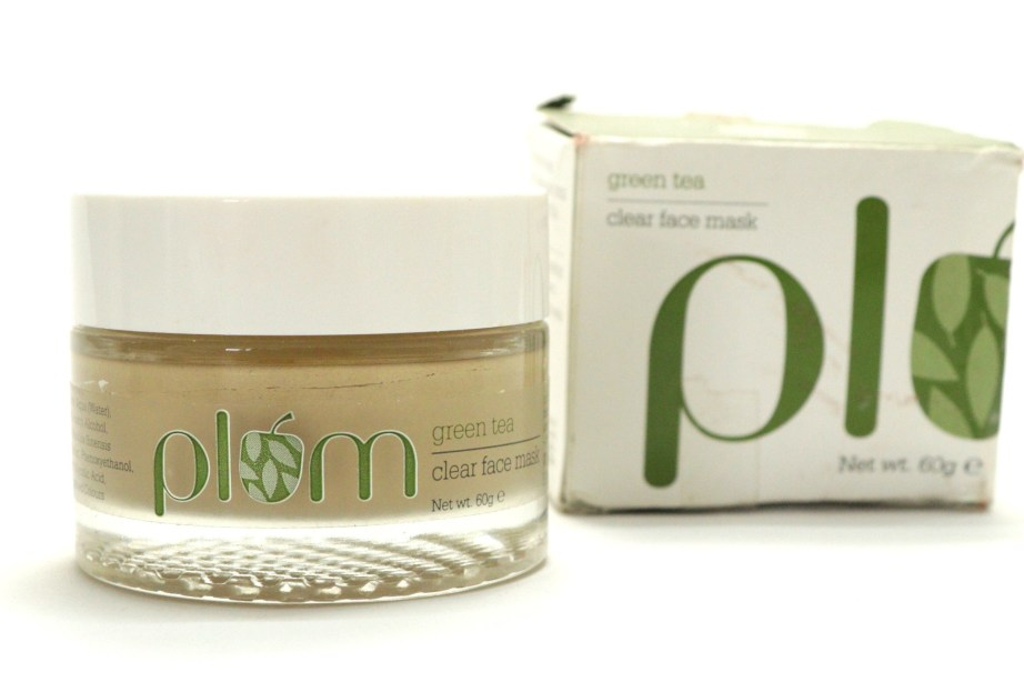 Plum Green Tea Clear Face Mask Review MBF