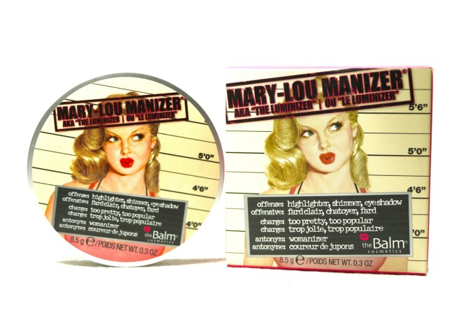 theBalm Mary Lou Manizer Highlighter Review, Swatches